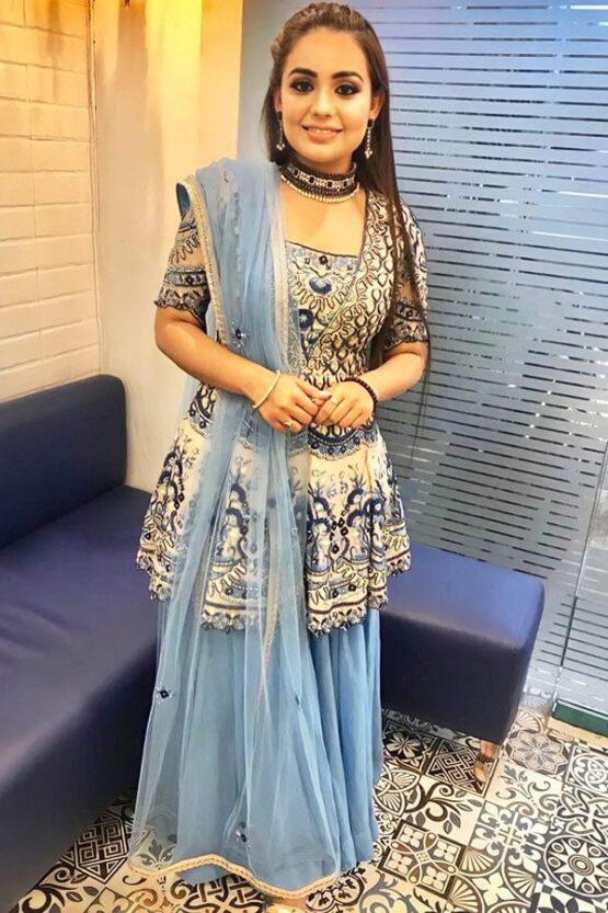 Party wear Punjabi Sharara suits online
