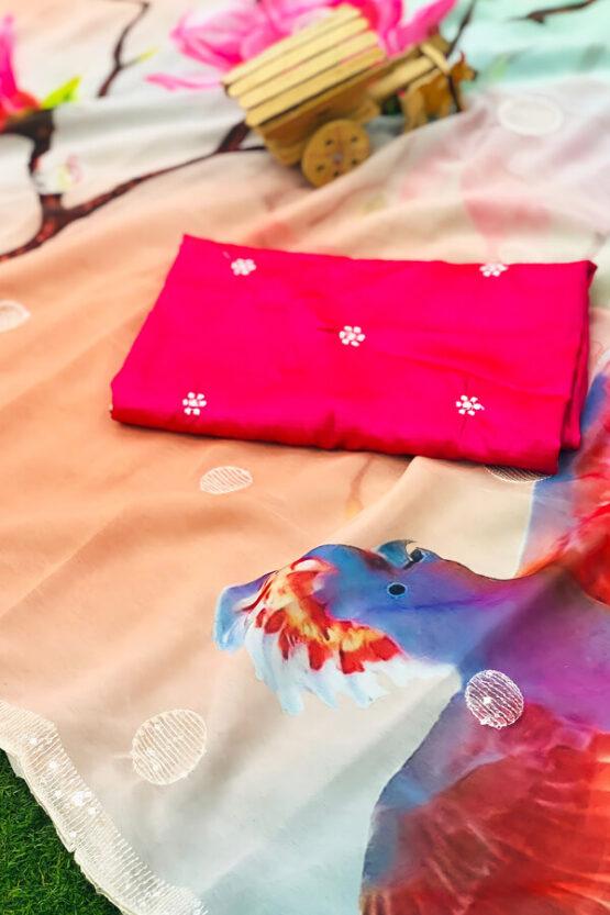 Party wear saree new design 2021 Latest.