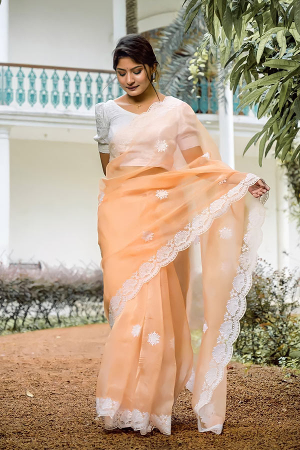 Saree for girls party wear 2021-2022.