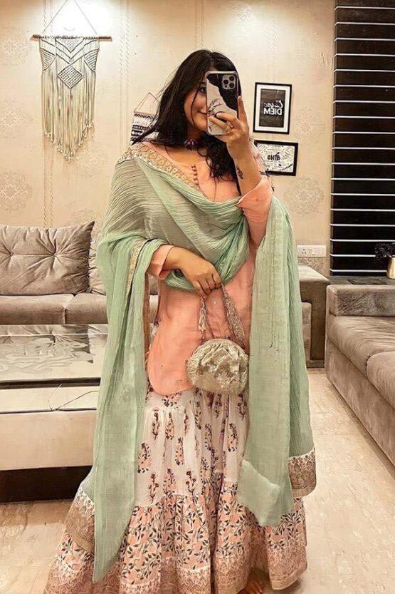 Sharara suit design 2021 Party wear Girls