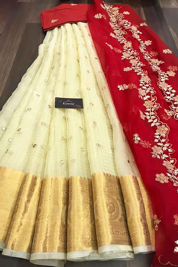 South Indian half saree online Shopping (2)