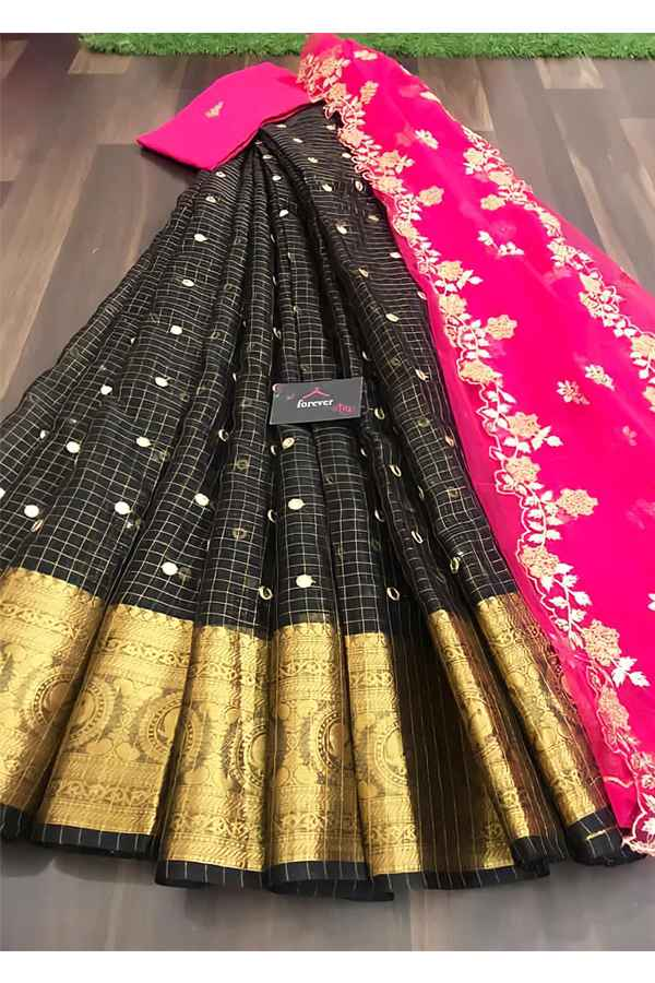 South Indian half saree online Shopping Latest.