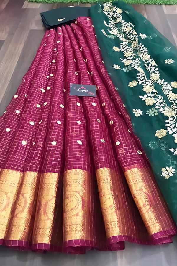 South Indian half saree online Shopping Latest