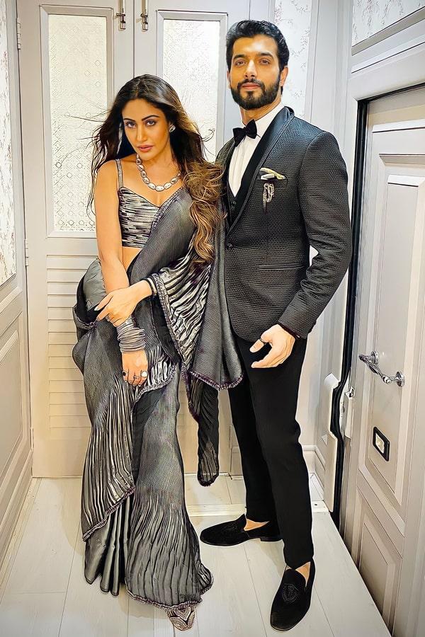 Surbhi chandna saree online shopping.