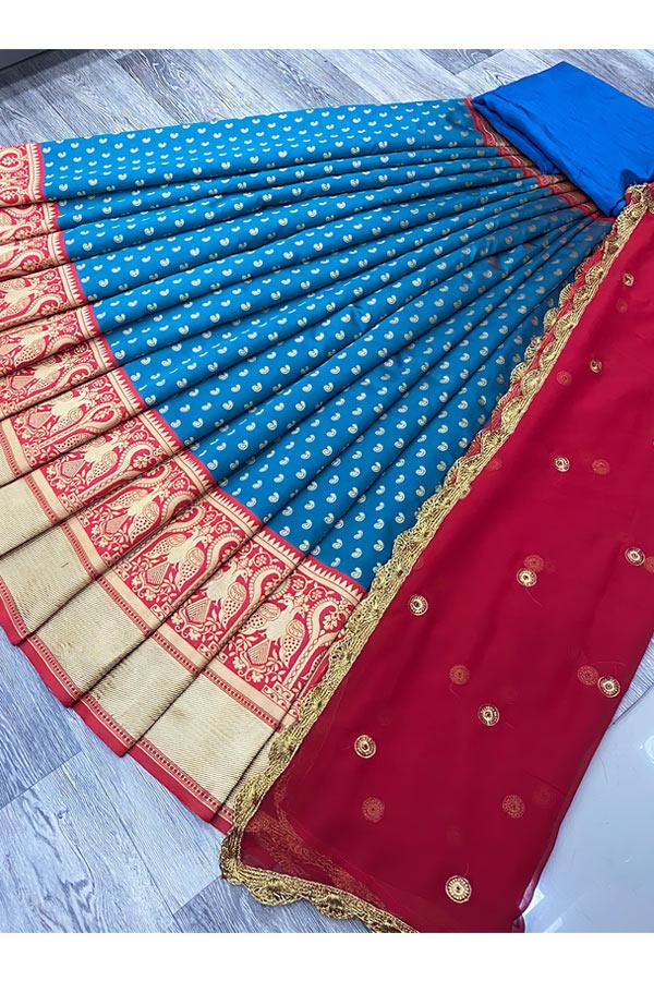 Traditional half saree designs online