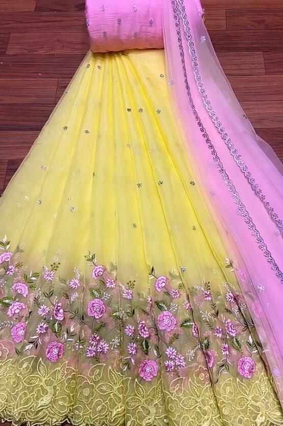 Traditional Half saree online shopping Kerala