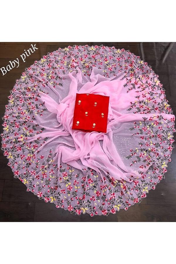 durga puja saree collection 2021 pink