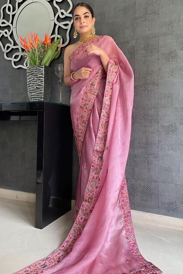 new saree design 2021-2022.