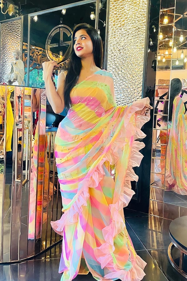 party wear designer saree online shopping