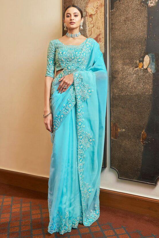 शादी में पहनने के लिए साड़ी Sadi dikhao (2)