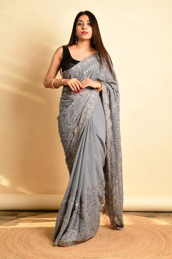 College farewell sarees online
