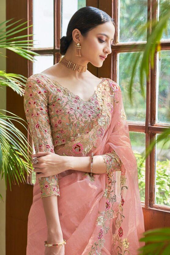 Designer saree for Marriage function