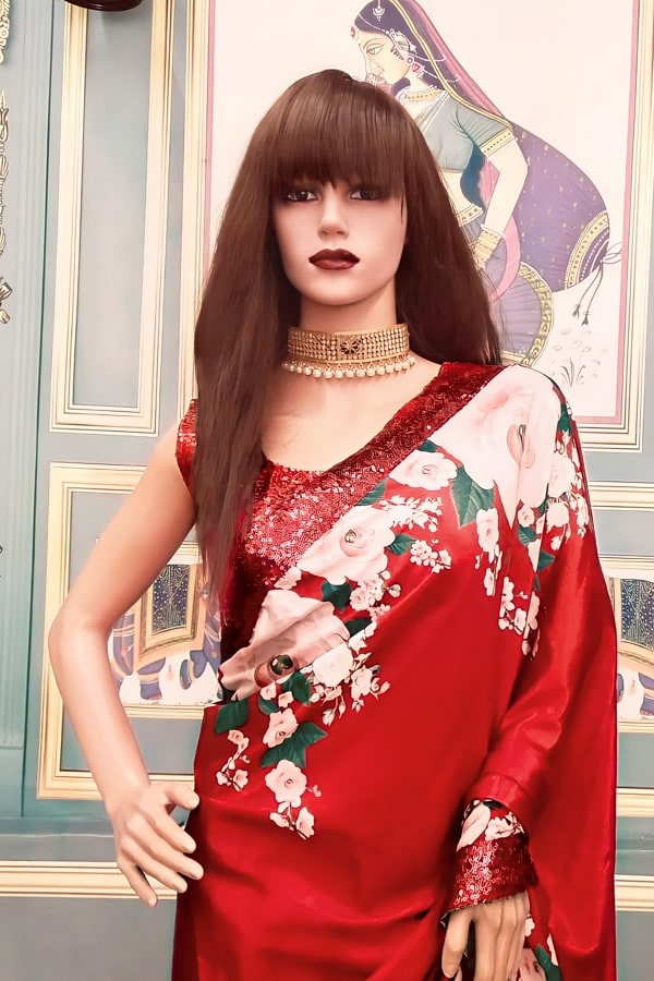 Designer sarees for wedding with prices