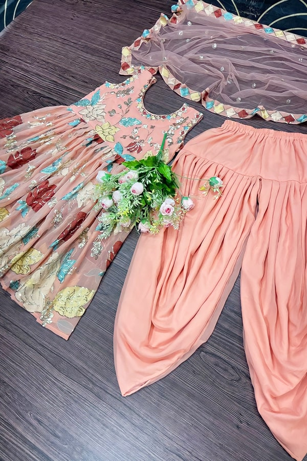 Dhoti style dresses for ladies girl