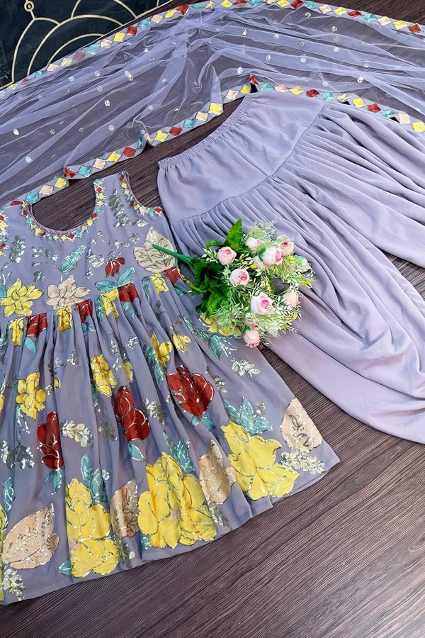Dhoti style dresses for ladies online