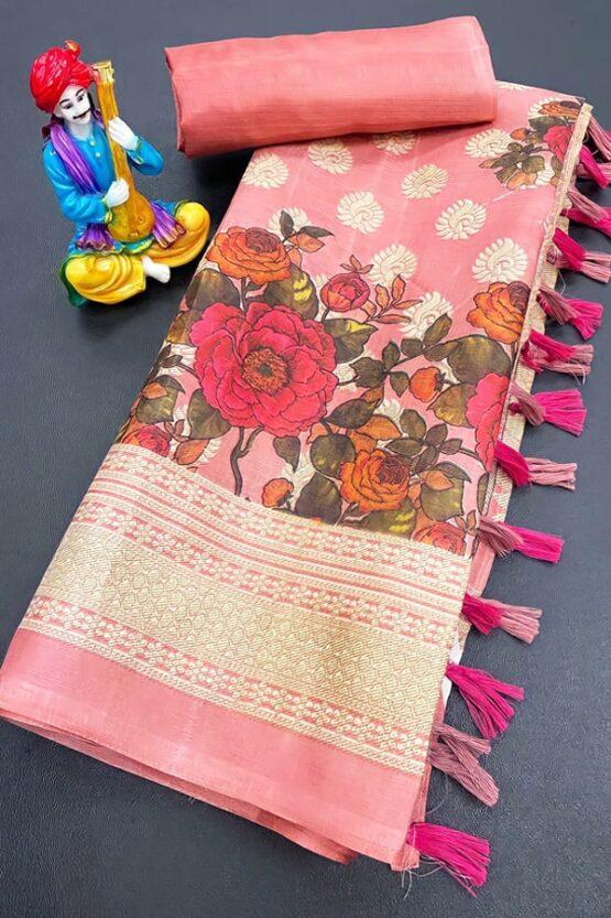 Handloom Khadi cotton saree with prices