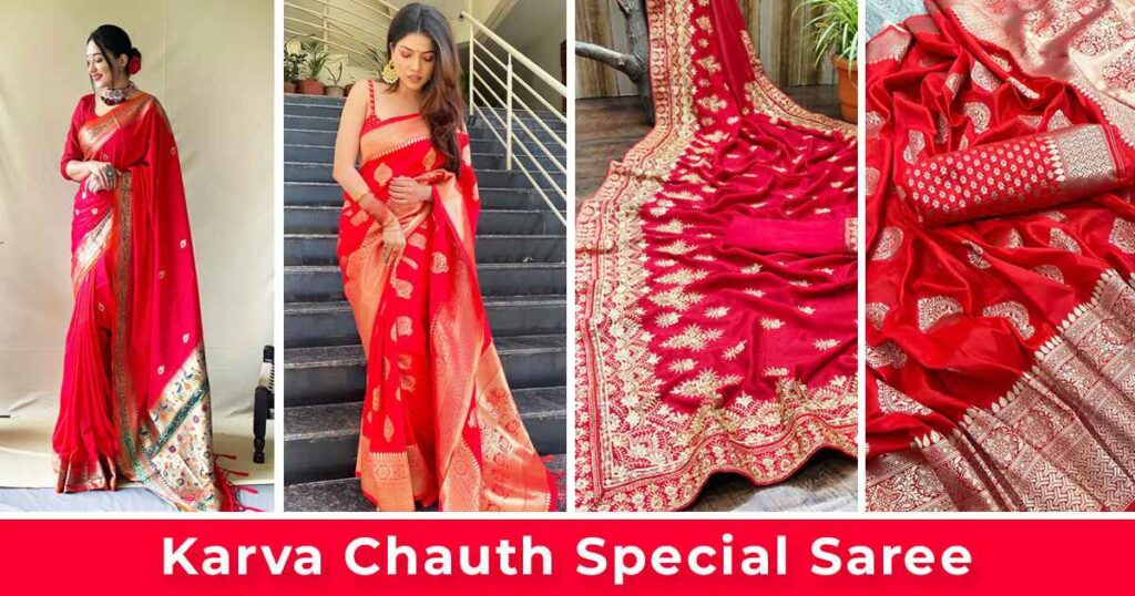 Karva Chauth Special Saree 2021 with Price
