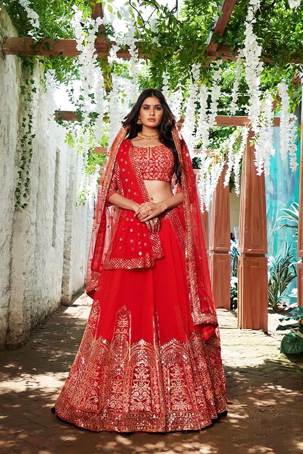Latest bridal lehenga designs 2021 for weddings