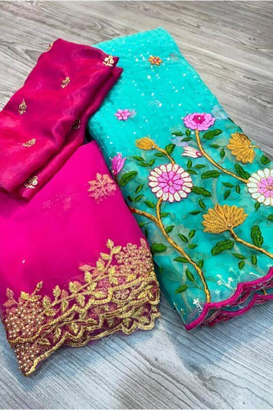 Latest half saree designs 2022