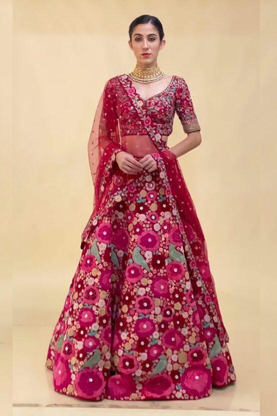 Latest lehenga designs 2021 for girl Modern