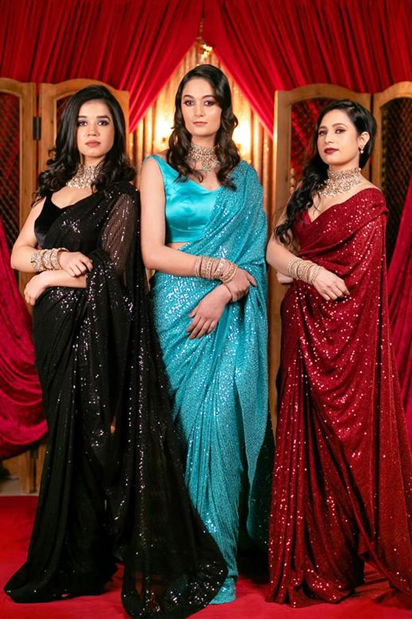 Latest party wear Sarees 2022 with Price.