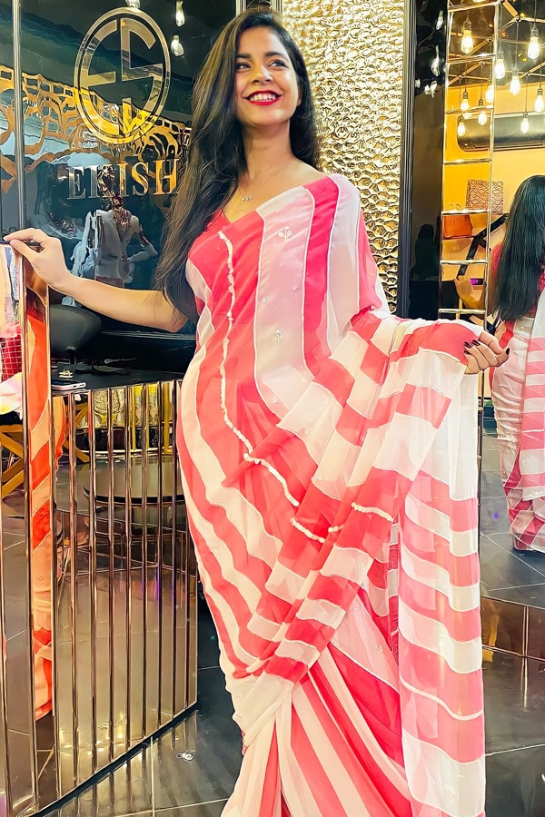 Latest party wear sarees 2022 new