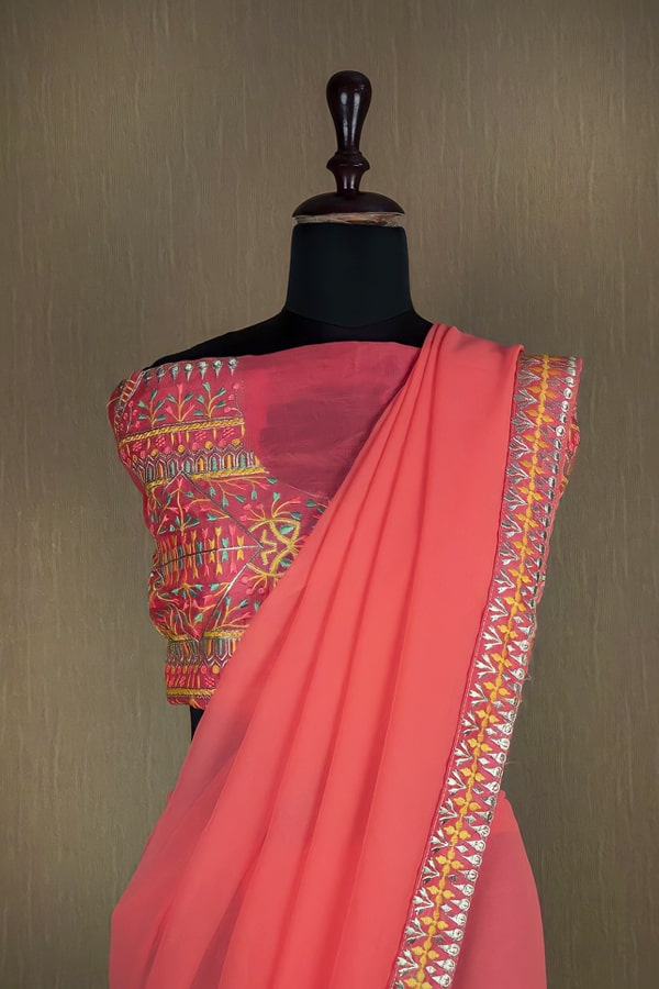 Latest party wear sarees 2022