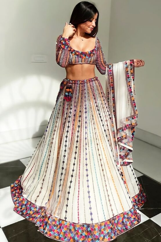 Lehenga for bride sisters wedding with price