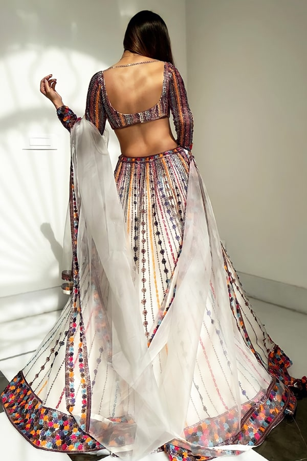 Lehenga for sister wedding with price