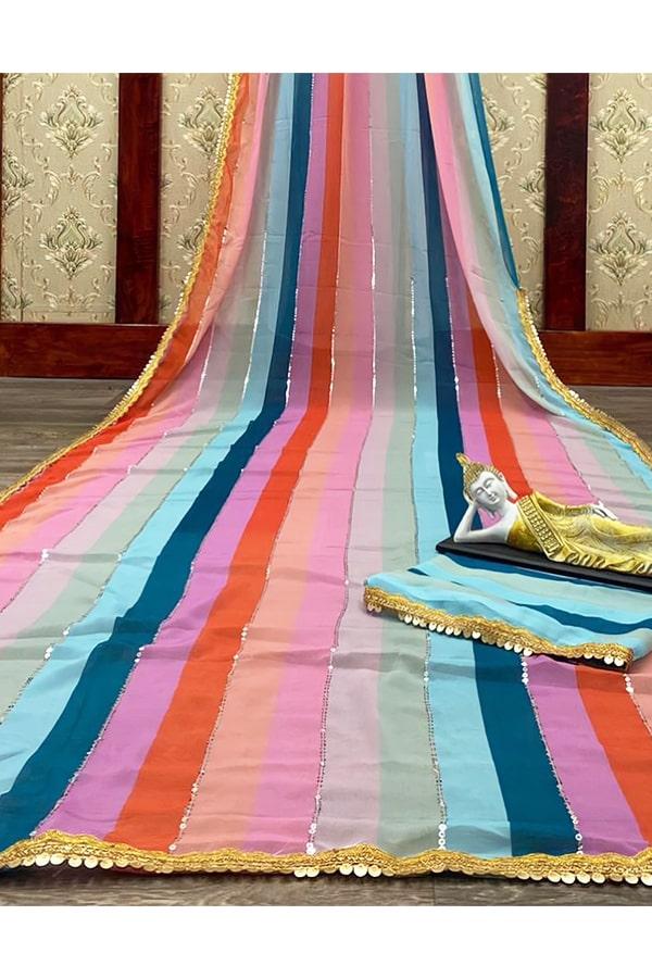 New saree design 2021-2022 Latest