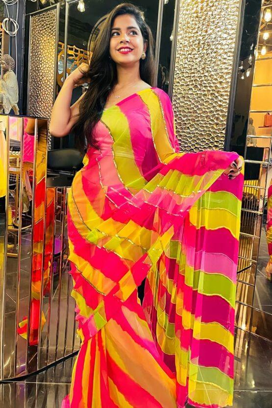 New saree design 2022-2021 Images