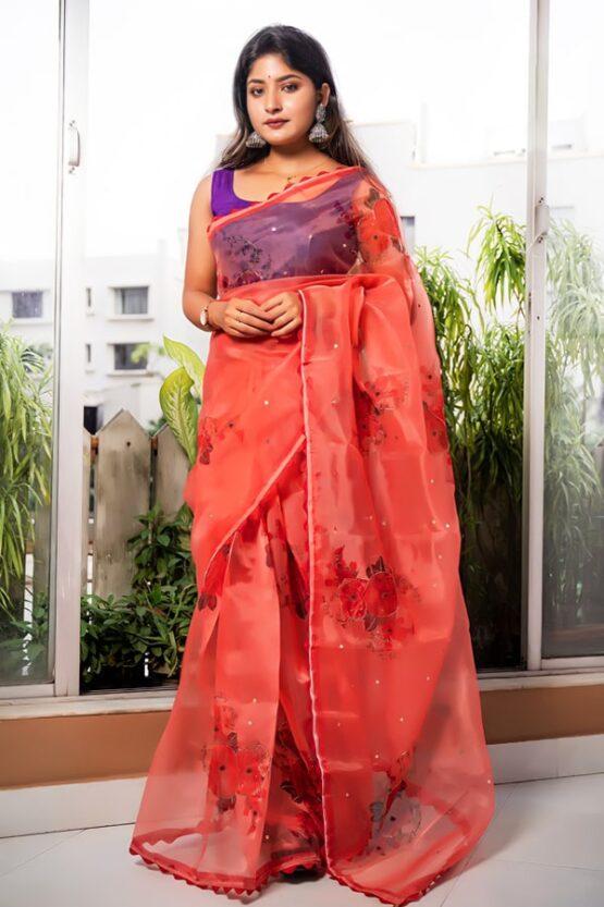 New saree design 2022 Image