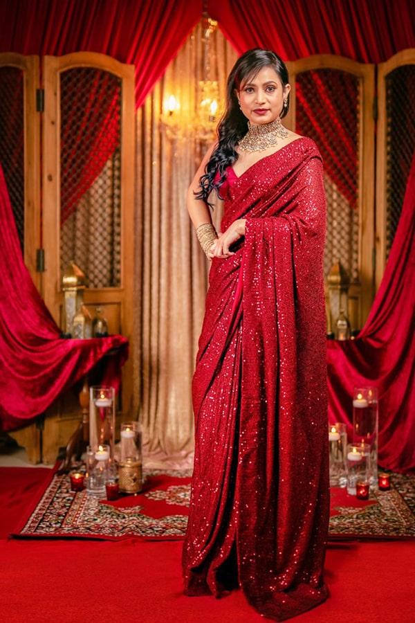 New saree design 2022 Party wear Latest.