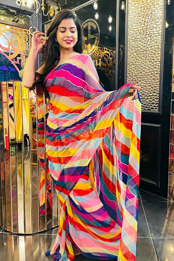 New saree design 2022 for girls Party wear.