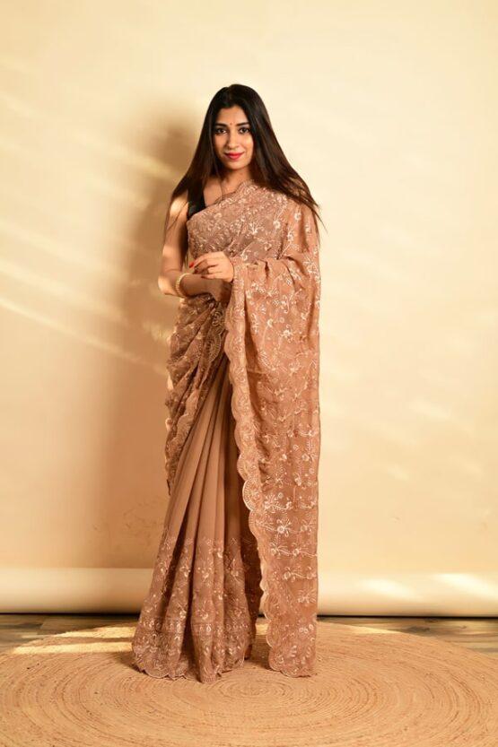 New saree design 2022 for wedding Guest