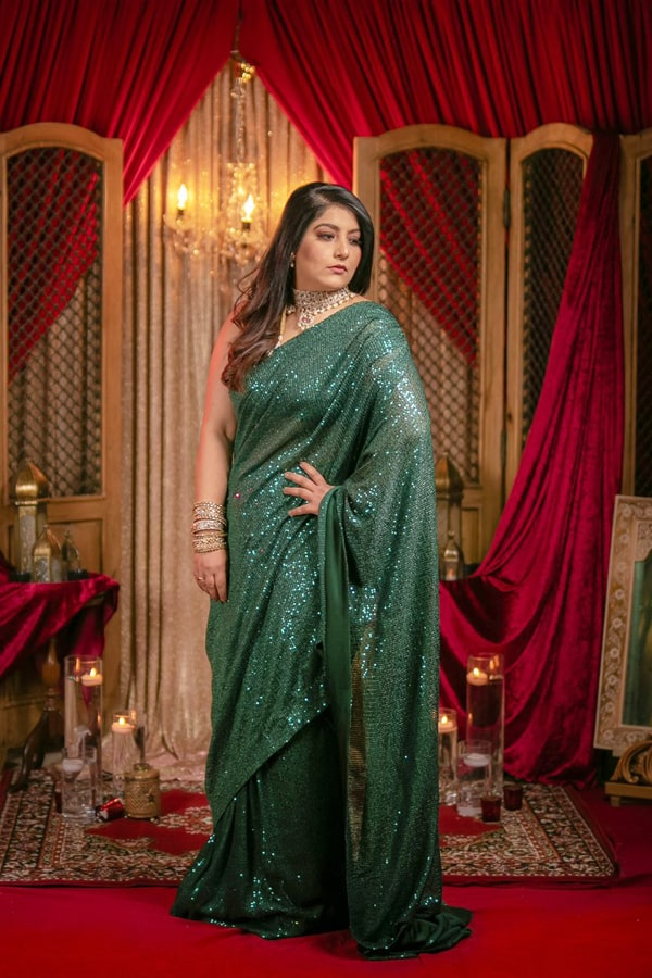 Party wear saree new design 2021-2022