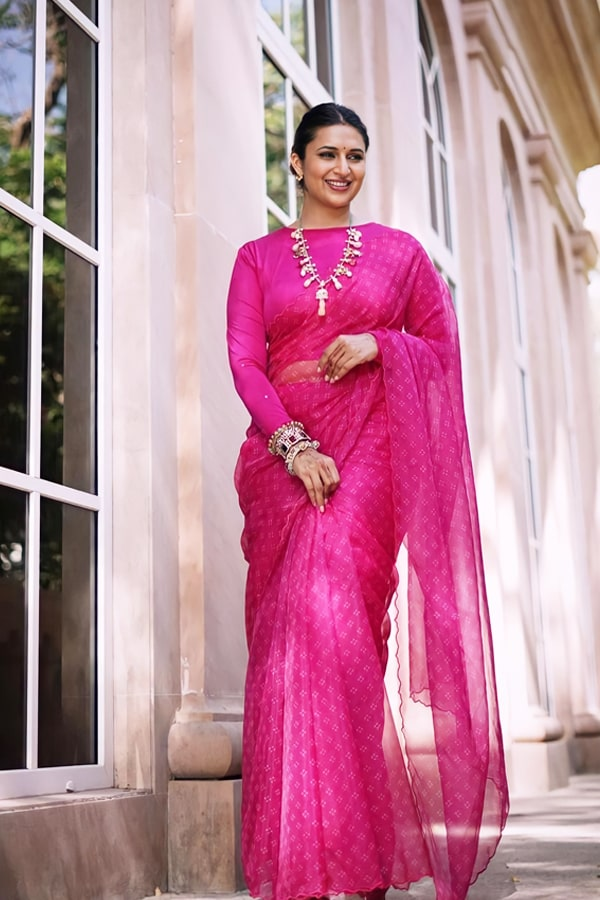 Saree for wedding Party for Guest