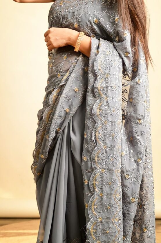 saree for farewell party